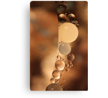 A Chocolate Moment Canvas Print