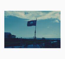 South Carolina Flag on USS Laffey Kids Tee