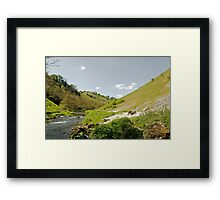 Dove Valley near to Milldale Framed Print