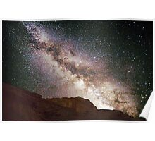 Milky Way Over Capital Reef National Park Poster