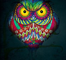 """Angry Owl by Night"" by IsabelSalvador"