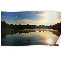 Sunrise at the Mote Poster