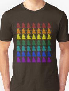 Rainbow march of Daleks Unisex T-Shirt
