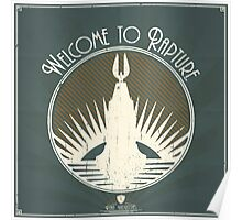 Bioshock Welcome To Rapture Poster