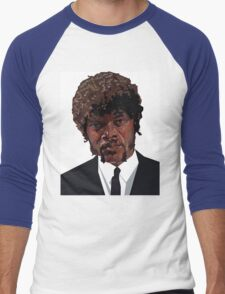SAMUEL L. JACKSON PULP FICTION GRAPHIC TSHIRT Men's Baseball ¾ T-Shirt