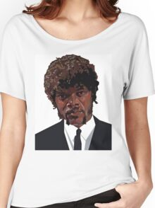 SAMUEL L. JACKSON PULP FICTION GRAPHIC TSHIRT Women's Relaxed Fit T-Shirt
