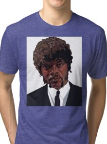SAMUEL L. JACKSON PULP FICTION GRAPHIC TSHIRT Tri-blend T-Shirt