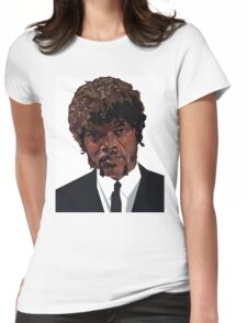 SAMUEL L. JACKSON PULP FICTION GRAPHIC TSHIRT Womens Fitted T-Shirt
