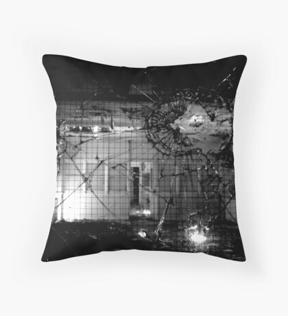 Distorted Perceptions ~ Harperbury Throw Pillow