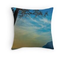 The cliffs at Los Gigantes, Tenerife Throw Pillow