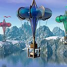 The great balloon race.  by Carol and Mike Werner