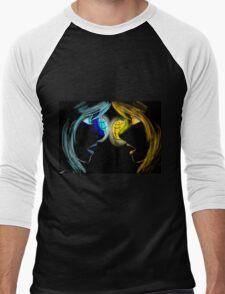 Twins of light Men's Baseball ¾ T-Shirt
