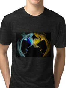 Twins of light Tri-blend T-Shirt