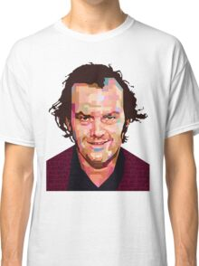 JACK NICHOLSON THE SHINING GRAPHIC ART TSHIRT Classic T-Shirt