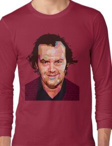 JACK NICHOLSON THE SHINING GRAPHIC ART TSHIRT Long Sleeve T-Shirt