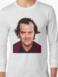 JACK NICHOLSON THE SHINING GRAPHIC ART TSHIRT Long Sleeve T-Shirt
