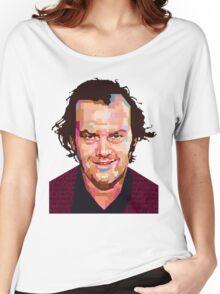 JACK NICHOLSON THE SHINING GRAPHIC ART TSHIRT Women's Relaxed Fit T-Shirt