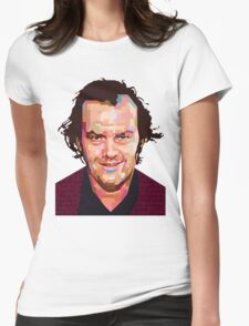 JACK NICHOLSON THE SHINING GRAPHIC ART TSHIRT Womens Fitted T-Shirt