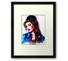 """My colors for Amy"" Framed Print"