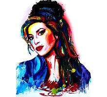 """""""My colors for Amy"""" Photographic Print"""