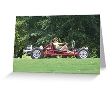 Dune Buggy Greeting Card