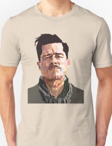 BRAD PITT ALDO RAINE INGLORIOUS BASTERDS GRAPHIC ART T-Shirt