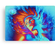 Waterwoman Canvas Print