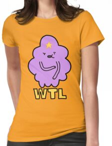 What The Lumps  Womens Fitted T-Shirt
