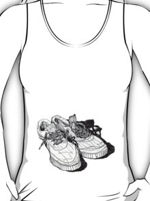 my old running shoes...  T-Shirt