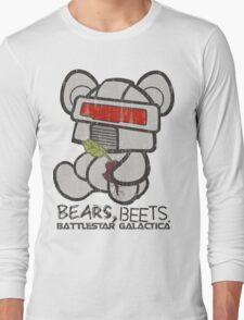Bears Beets Battlestar Galactica Long Sleeve T-Shirt
