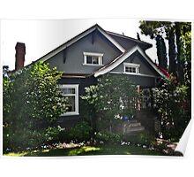 """ Little house on the corner "" Poster"