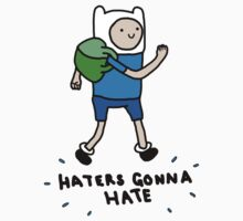 Haters Gonna Hate Finn Baby Tee