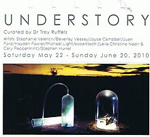 UNDERSTORY Exhibition invite by chrythmnove