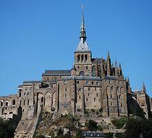 Mont St-Michel  by Shelby  Stalnaker Bortone