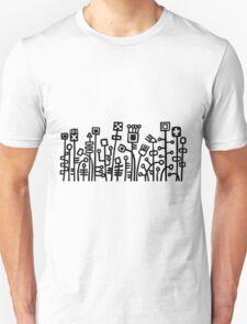Cyber Garden - Black T-Shirt