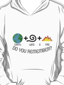 Earth, Wind & Fire Equation T-Shirt