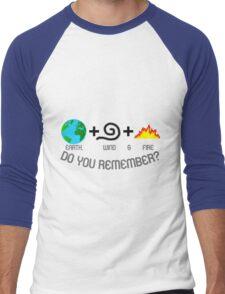 Earth, Wind & Fire Equation Men's Baseball ¾ T-Shirt