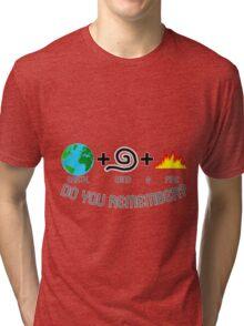 Earth, Wind & Fire Equation Tri-blend T-Shirt