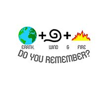 Earth, Wind & Fire Equation Photographic Print