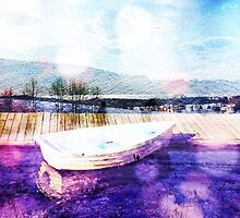 painterly boat by debschmill