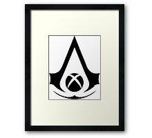 xbox assassins Framed Print