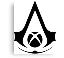 xbox assassins Canvas Print