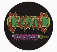 Celtic Knights LOGO T-Shirt by Pogoshots