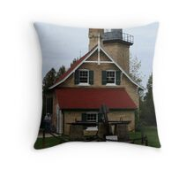 Eagle Bluff Lighthouse - 1868 Throw Pillow