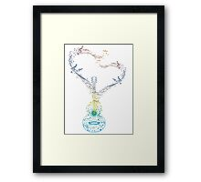 Guitar and Music Notes 2 Framed Print