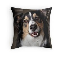 Rascal Portrait Throw Pillow