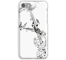 Guitar and Music Notes iPhone Case/Skin
