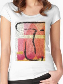 T=Lx3: Teaching is loving, laughing and learning Women's Fitted Scoop T-Shirt