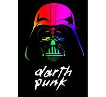 Darth Punk Photographic Print