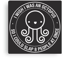 Octopus Wish Canvas Print